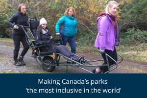 Making Canada's parks the most inclusive in the world